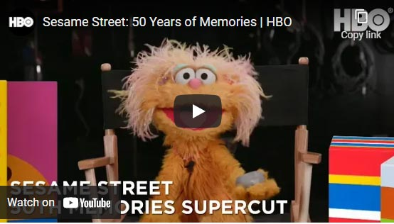 celebrating sesame street 50 years